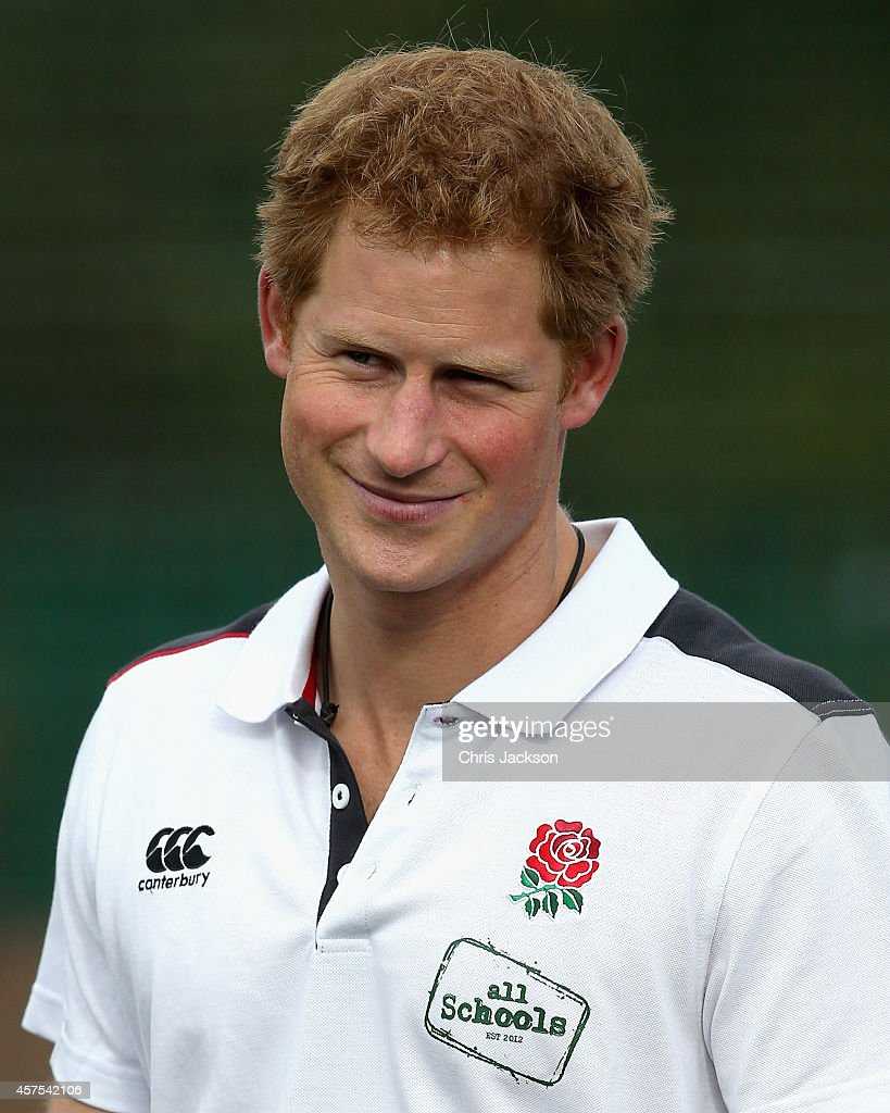 Prince Harry Visits Greater Manchester : News Photo