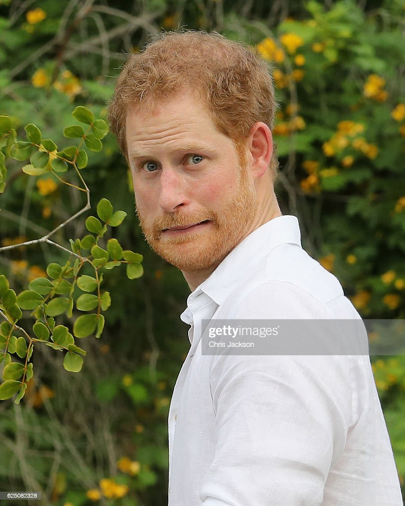 Prince Harry Visits The Caribbean - Day 3 : News Photo