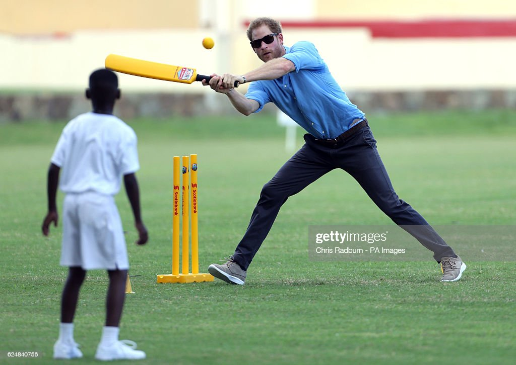 Prince Harry visit to the Caribbean - Day Two : News Photo