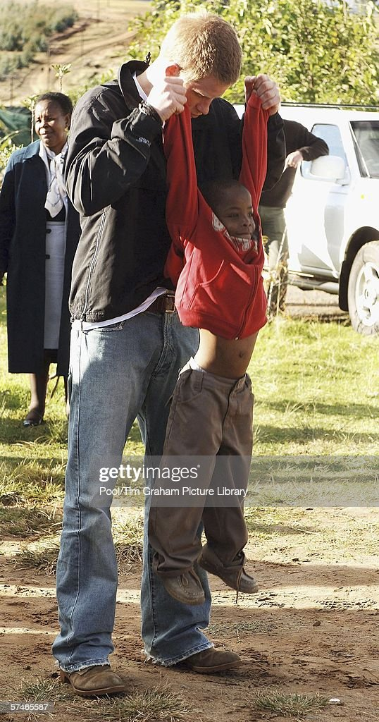 Prince Harry Returns to Lesotho : News Photo