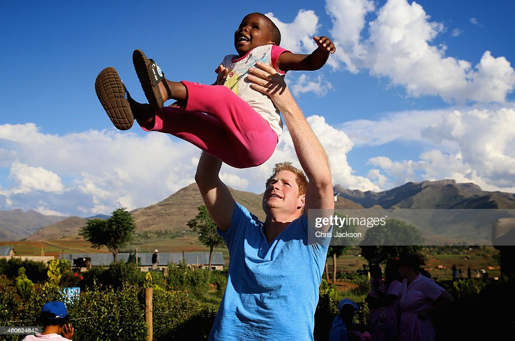 Prince Harry Visits Lesotho With His Charity Sentebale : News Photo