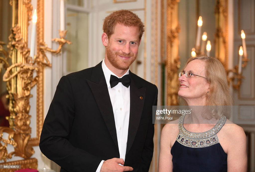 Prince Harry Attends 100 Women In Finance Gala Dinner In Aid Of Wellchild : News Photo