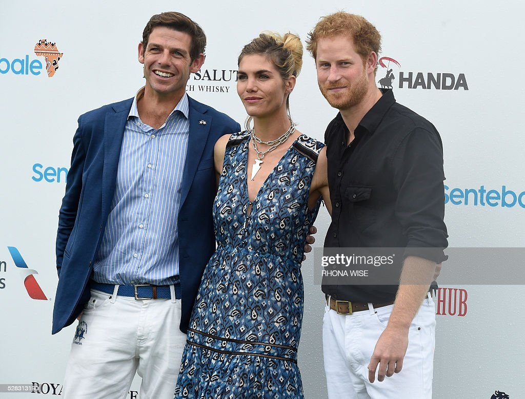US-ROYALS-POLO-HARRY : News Photo