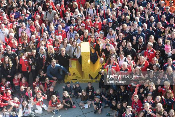 Prince Harry poses with Friends and Family on day 8 of the Invictus Games Toronto 2017 on September 30 2017 in Toronto Canada The Games use the power...