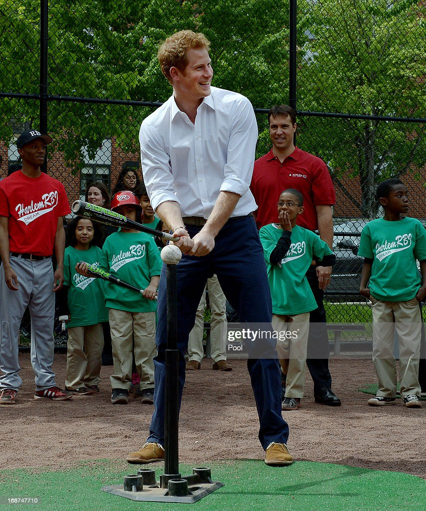 Prince Harry Visits The United States - Day Five : News Photo