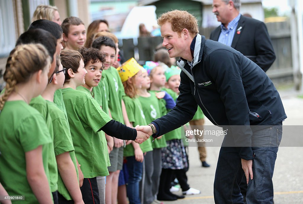 Prince Harry Visits New Zealand - Day 3 : News Photo