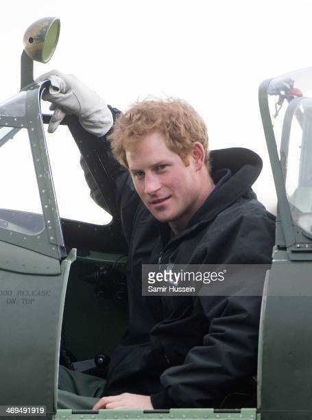 Prince Harry Attends A Track Day For The Royal Foundation Endeavour