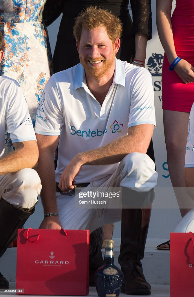 Prince Harry Visits Africa - Day 2 : News Photo