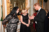 london england prince harry speaks to