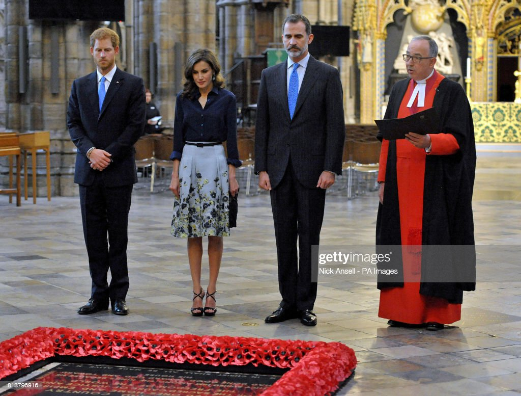 King Felipe VI State Visit to UK : News Photo