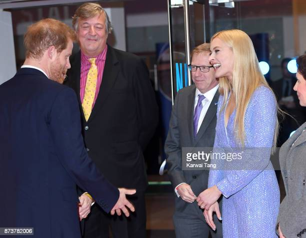 6247394262b Prince Harry Stephen Fry and Fearne Cotton attend the Virgin Money Giving  Mind Media Awards at
