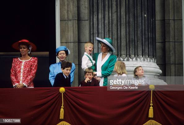 Prince Harry Sticking His Tongue Out Much To The Suprise