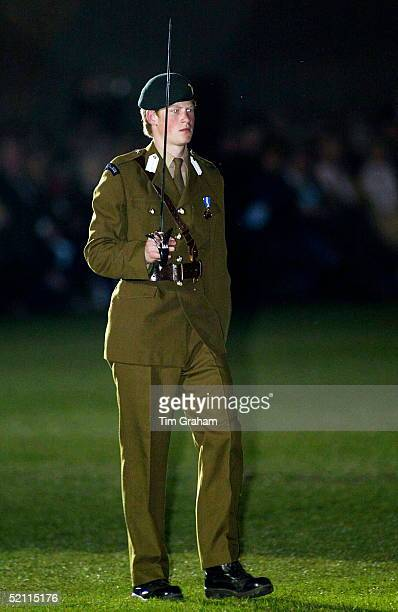 Prince Harry Takes Command Of A 48-strong Guard Of Honour As He Leads Cadets During Eton College's Military Tattoo. The Prince Has Achieved One Of...