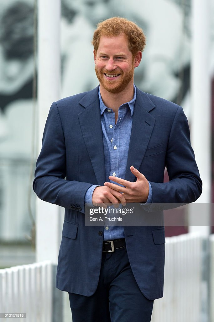 Prince Harry Celebrates The Expansion Of Coach Core At Lord's Cricket Club : News Photo