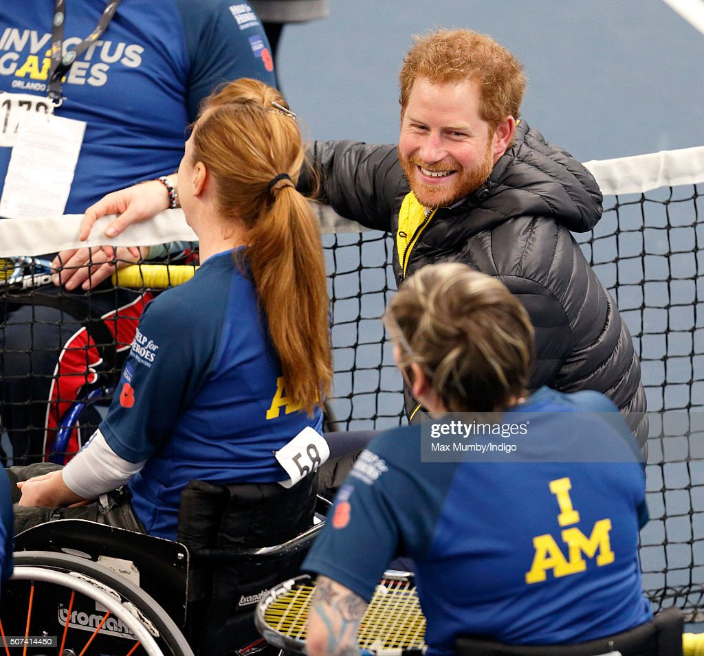 Prince Harry Attends UK Team Trials For The Invictus Games Orlando 2016 : News Photo