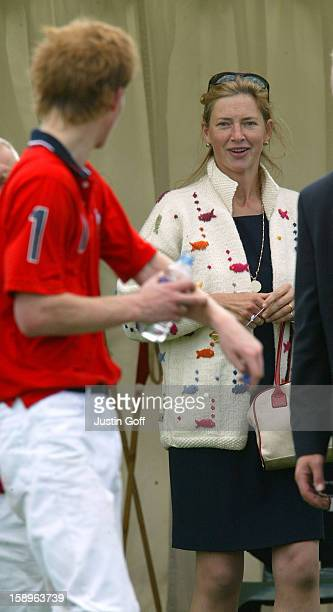 Prince Harry Tiggy Pettifer At The Cartier International Polo Day At Guards Polo Club Windsor
