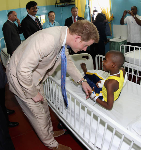 Prince Harry Tours Jamaica To Mark Queen Elizabeth II's