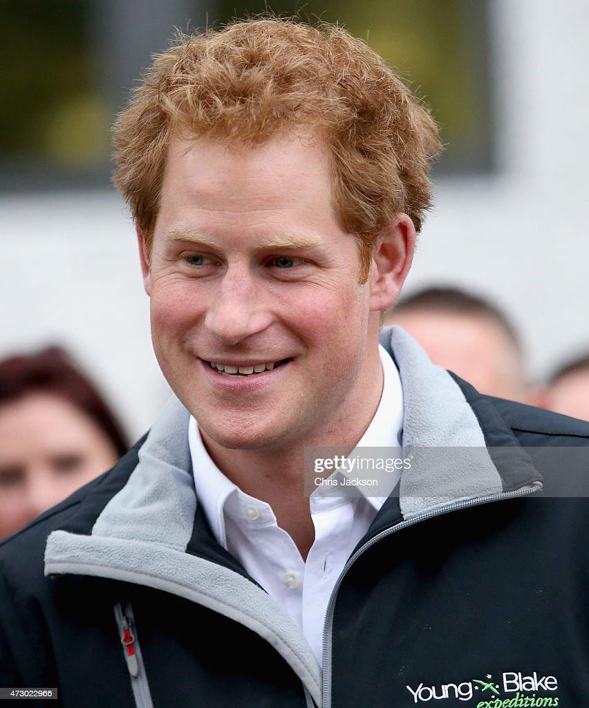 Prince Harry Visits Canterbury University On May 12, 2015