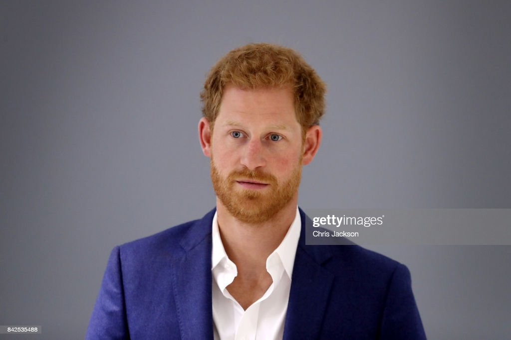 Prince Harry Visits Manchester : News Photo