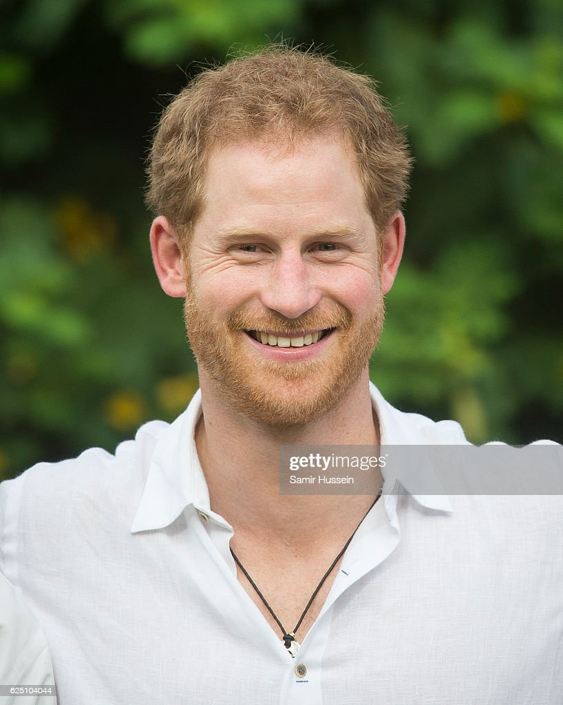 Prince Harry Visits The Caribbean - Day 3