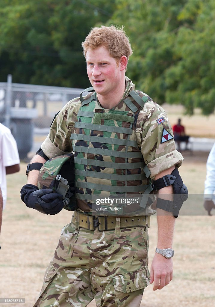 Prince Harry Visit To Jamaica - Day Two : News Photo
