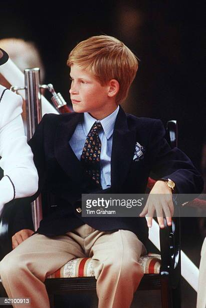 Prince Harry Watching The Vj Day Parade