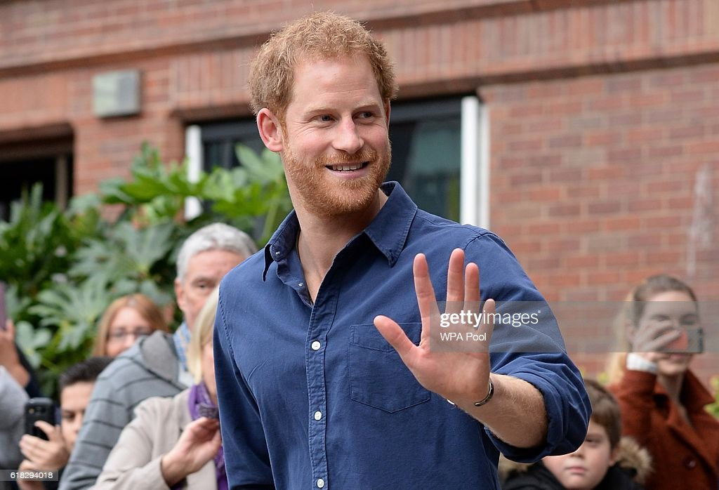 Prince Harry Visits Nottingham