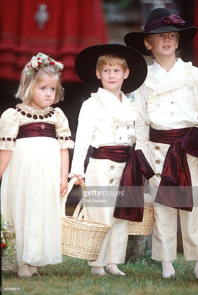 Prince Harry, Alexander And Eleanor : News Photo