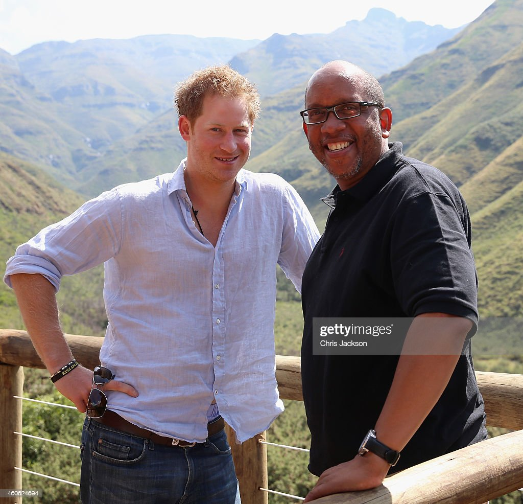 Prince Harry Visits Lesotho With His Charity Sentebale