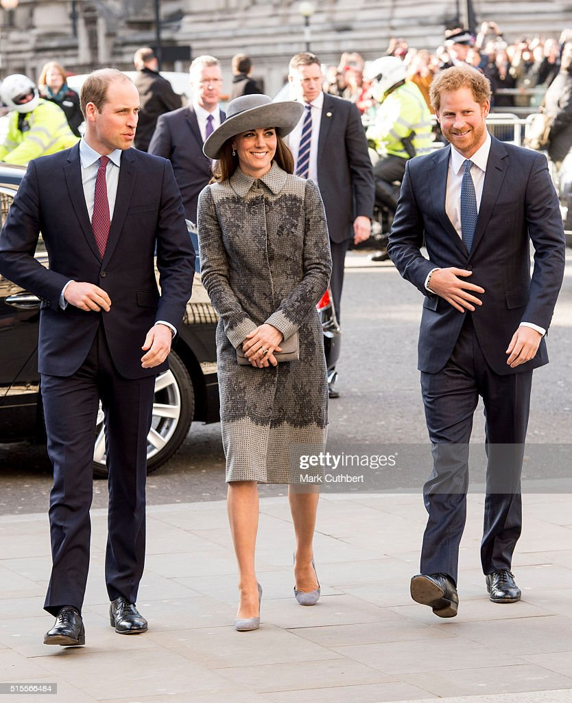Prince Harry With Prince William, Duke Of Cambridge And