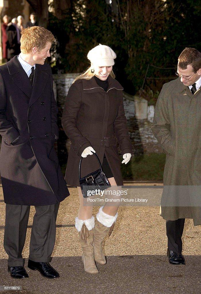 Harry Zara And Peter Phillips : News Photo