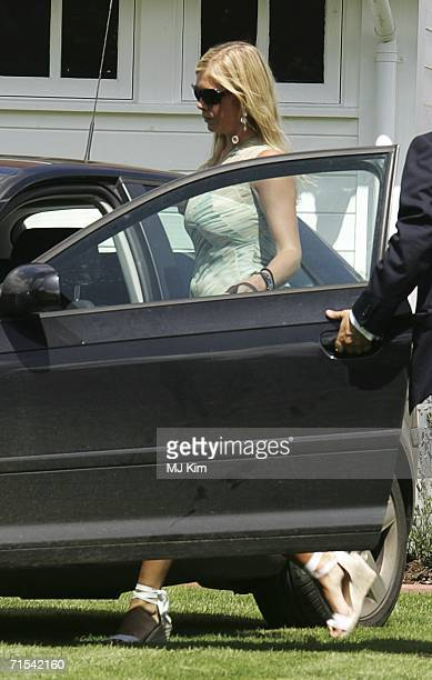 Prince Harry's girlfriend Chelsy Davy attends the Cartier International Polo match at the Guards Polo Club on July 30 2006 in Egham England