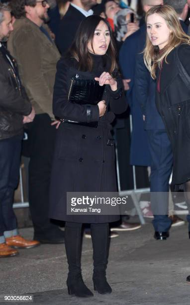 Prince Harry's private secretary Heather Wong visits Reprezent 1073FM on January 9 2018 in London England The Reprezent training programme was...
