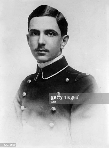 Prince heir Umberto II of Italy here c 1924