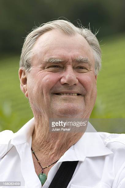 Prince Henrik Attends A Photocall At Chateau De Caix In Luzech Near Cahors France