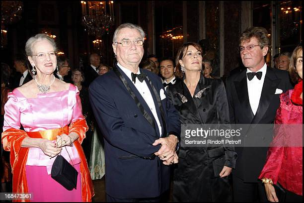 Prince Henrik De Montpezat Queen Margrethe of Denmark and Prince Ernst August De Hanovre and Princesse Caroline De Hanovre at Private View Of The...