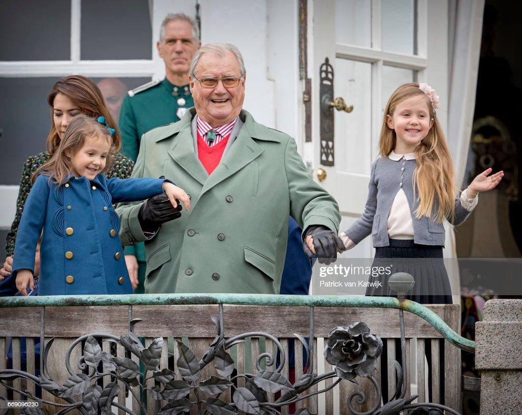 Danish Queen Margrethe Celebrates 77th Birthday : News Photo
