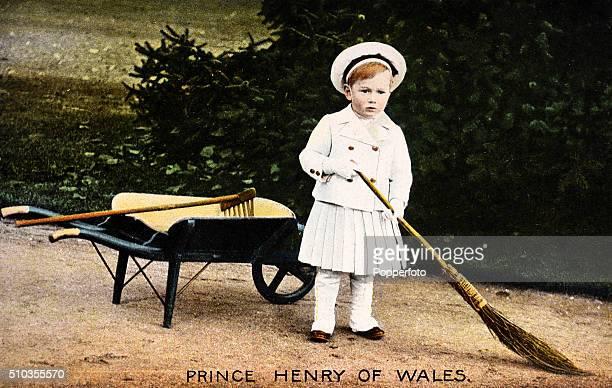 Prince Henry of Wales later the Duke of Gloucester at York Cottage Sandringham circa September 1902
