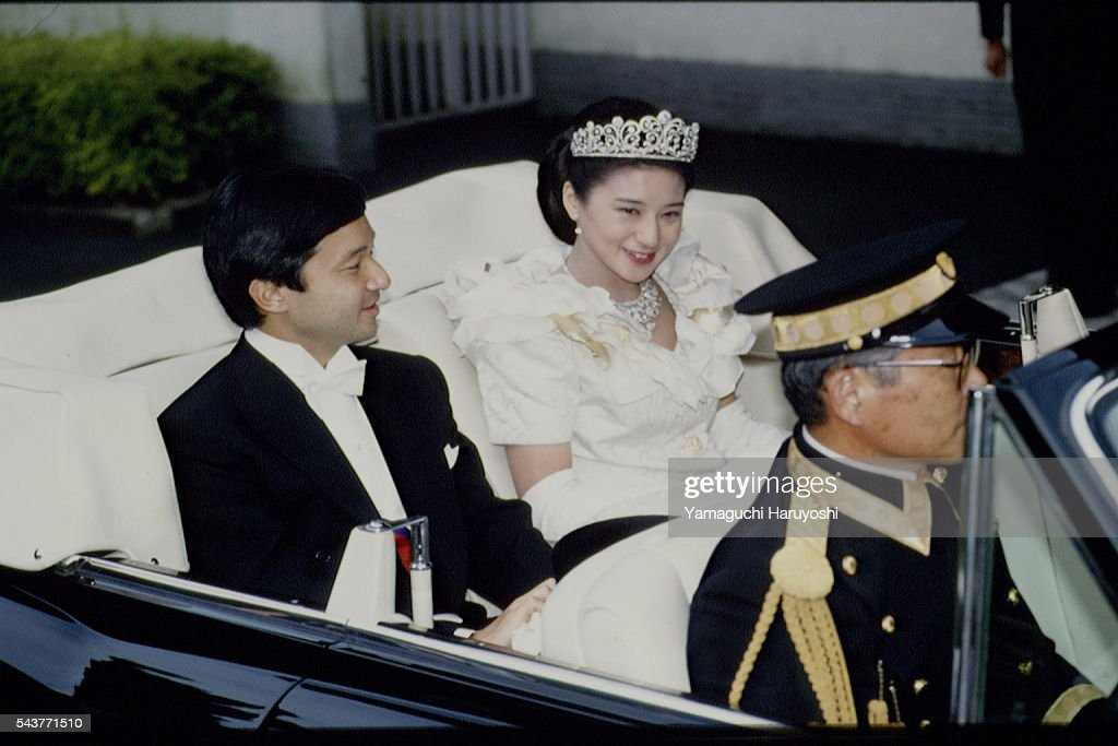 WEDDING OF CROWN PRINCE OF JAPAN AND M.OWADA : News Photo