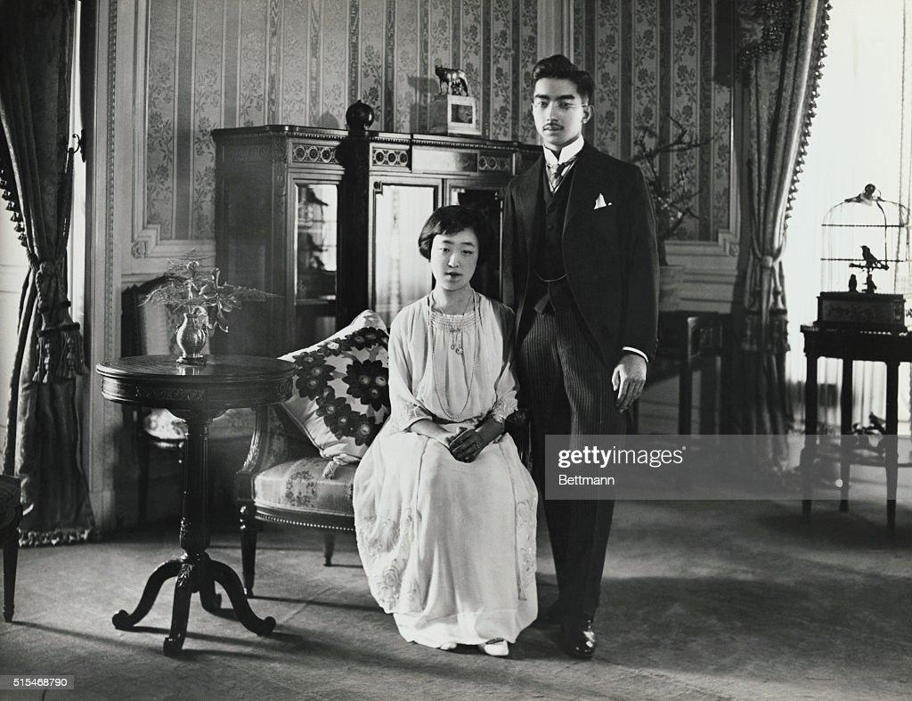 Prince Hirohito and Princess Nagato : News Photo