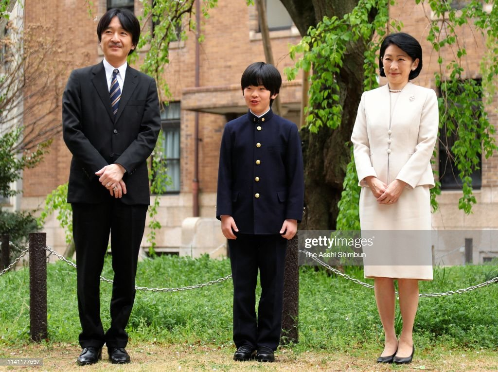JPN: Prince Hisahito Enters Junior High School