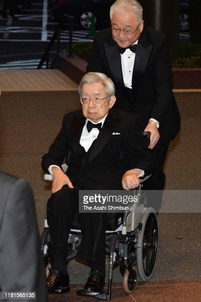 Prince Hitachi attends the Praemium Imperiale Award Ceremony on October 16, 2019 in Tokyo, Japan.