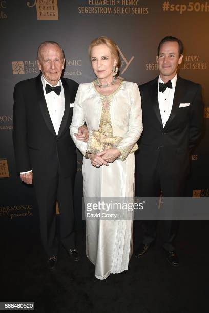 Prince Hugo Veriand WindischGraetz HRH Princess Michael of Kent and Prince Charles WindischGraetz attend the Mariinsky Orchestra Concert in honor of...