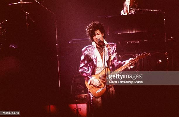 Prince in the Purple Rain tour in North America New York March 1985