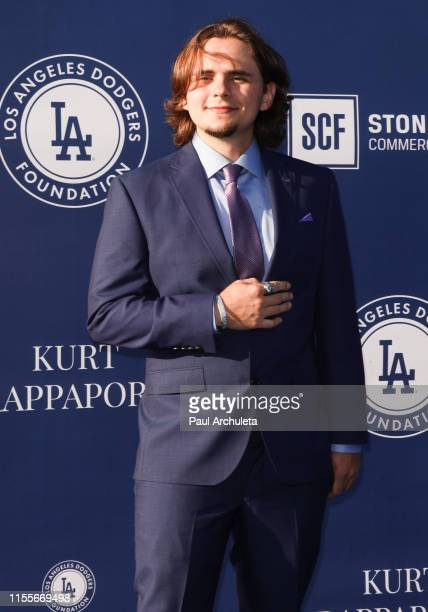 Prince Jackson attends the 5th Annual Blue Diamond Foundation at Dodger Stadium on June 12 2019 in Los Angeles California
