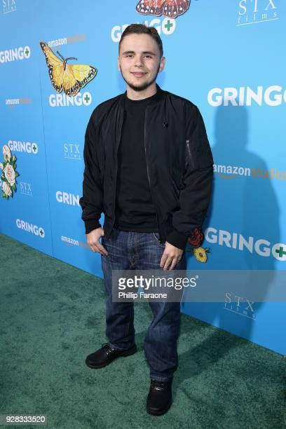 Prince Jackson attends the world premiere of 'Gringo' from Amazon Studios and STX Films at Regal LA Live Stadium 14 on March 6 2018 in Los Angeles...