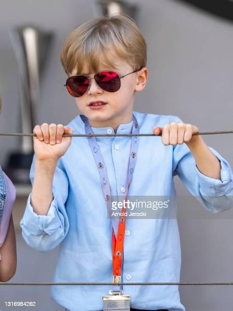 Prince Jacques attends the ABB FIA Formula E Monaco E-Prix on May 08, 2021 in Monaco, Monaco.
