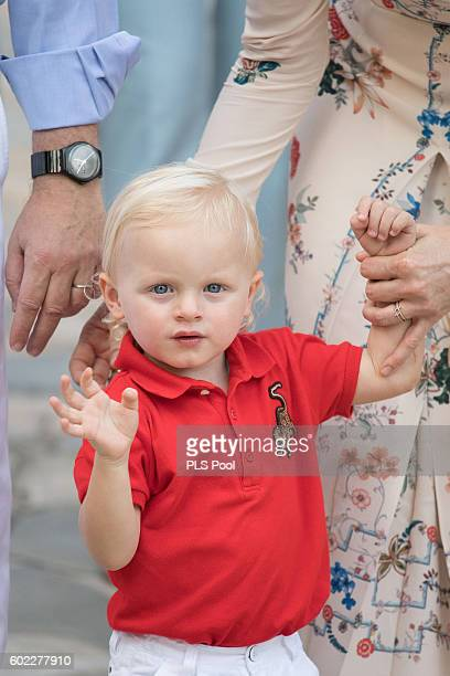 Prince Jacques of Monaco attends the annual traditional Pique Nique Monagasque on September 10 2016 in Monaco Monaco