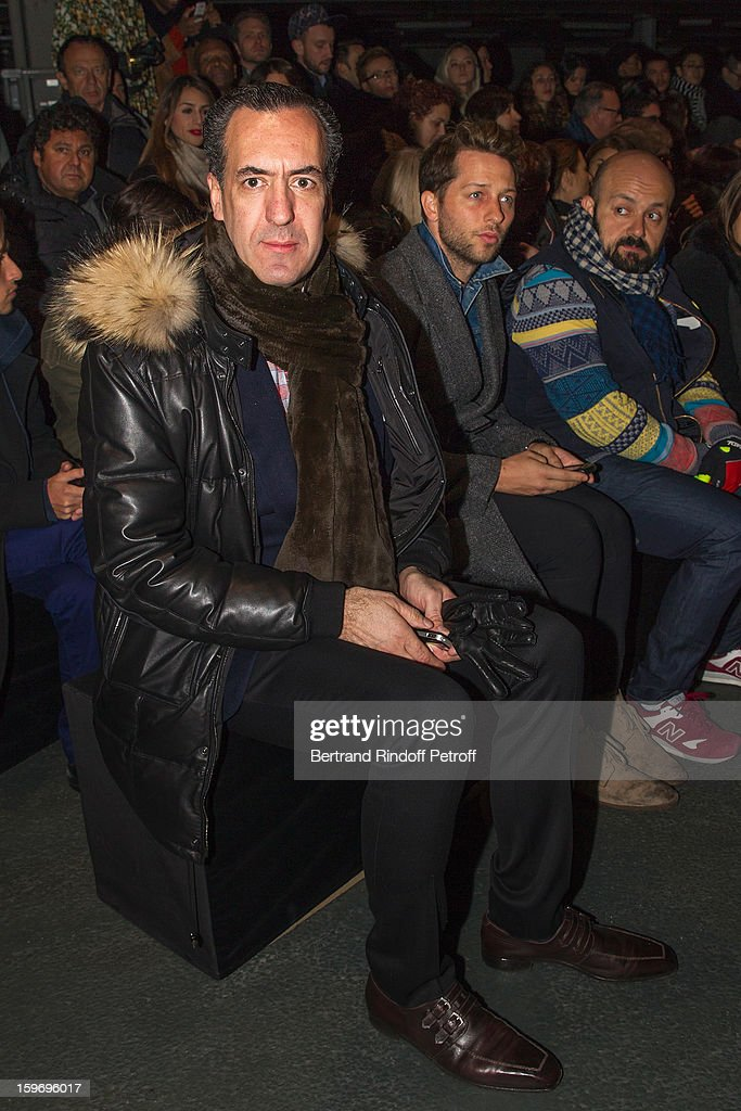 Prince Jaime de Marichalar attends the Givenchy Men Autumn / Winter 2013 show as part of Paris Fashion Week on January 18, 2013 in Paris, France.