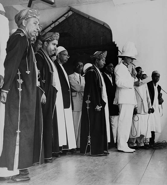 Prince Jamshed Proclamation As Sultan Of Zanzibar On July 4Th 1963
